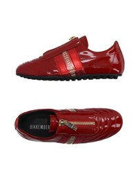 Bikkembergs Footwear Low Tops And Trainers Women Red