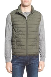 Nordstrom Packable Quilted Down Vest Green