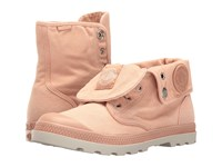Palladium Baggy Low Lp Salmon Pink Silver Birch Women's Lace Up Boots Orange