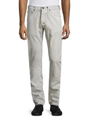 Prps Straight Fit Jeans White Black
