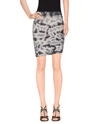 Pam And Gela Skirts Mini Skirts Women Grey