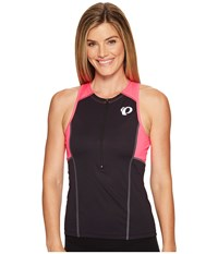 Pearl Izumi Select Pursuit Tri Sleeveless Jersey Black Screaming Pink