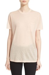 Women's Alexander Wang Wool And Silk Knit Crewneck Tee