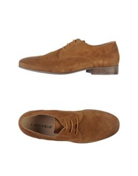 Cafe'noir Cafenoir Lace Up Shoes Khaki