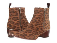 Jeffery West Sylvian Zip Leopard