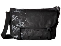 Timbuk2 Classic Messenger Print Small Triangle Emboss Messenger Bags Black