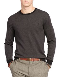 Polo Ralph Lauren Pima Cotton Crewneck Sweater Grey