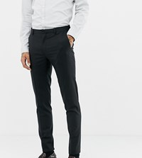 Heart And Dagger Skinny Suit Trouser Black