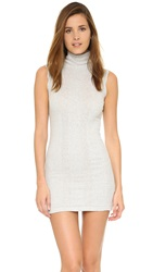 Edith A. Miller Sleeveless Mini Dress Snowy Grey
