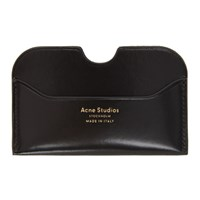 Acne Studios Black Elma Card Holder