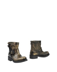 Bagatt Ankle Boots Gold