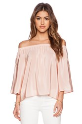 Amanda Uprichard Nirvana Top Blush