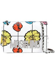 Moschino Floral Quilted Shoulder Bag Multicolour