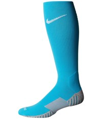 Nike Stadium Football Otc Chlorine Blue Wolf Grey White Knee High Socks Shoes