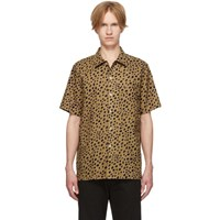 Paul Smith Ps By Tan Cheetah Short Sleeve Shirt