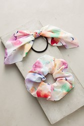 Anthropologie Watercolor Pony Holder Set Assorted