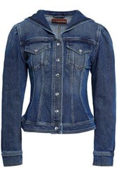 Alexachung Woman Louis Denim Jacket Mid Denim