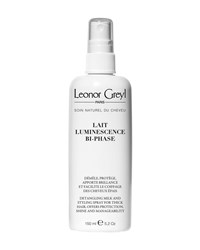 Leonor Greyl Lait Luminescence Bi Phase Detangling And Styling Spray For Thick Hair 5.2 Oz. 150 Ml