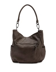 Liebeskind Jeany W Leather Hobo Grey