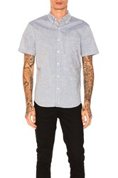 Ag Adriano Goldschmied Nash Button Down Blue
