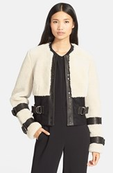 Women's A.L.C. 'Stager' Genuine Shearling Jacket