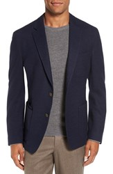 Flynt Men's Big And Tall New Fit Wool Blend Knit Sport Coat