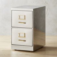 Small Stainless Steel File Cabinet