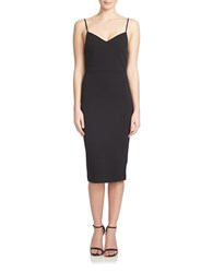 1.State Strappy Slip Dress Rich Black