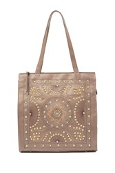 Hobo Avalon Leather Tote Bag Ash