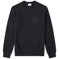 Wood Wood Aa Houston Sweat Black