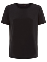 Jaeger Silk T Shirt Black