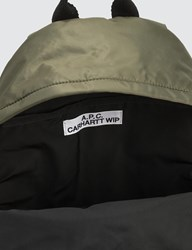 A.P.C. X Carhartt Backpack Green