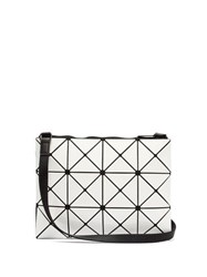 Issey Miyake Bao Bao Lucent Cross Body Bag White