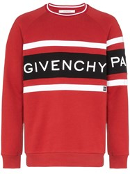 Givenchy Embroidered 4G Logo Cotton Sweatshirt