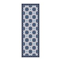 Hibernica Collection Ceramic Vinyl Floor Mat Hib18251 Blue