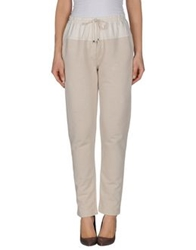 8Pm Casual Pants Beige