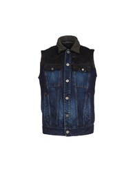 Just Cavalli Denim Denim Outerwear Men Blue
