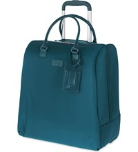 Lipault Lady Plume Rolling Tote Duck Blue