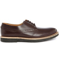 Paul And Joe Ilton Pr Brown Smooth Leather Derbies