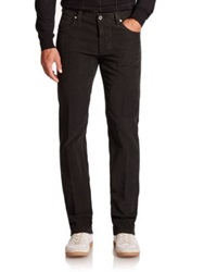Saks Fifth Avenue Luca Five Pocket Corduroy Pants Dark Navy