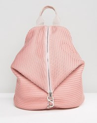 Asos Lifestyle Mesh Dogclip Backpack Pink
