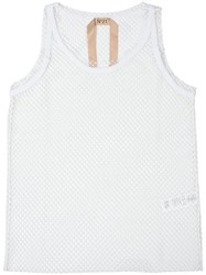 N 21 No21 Net Layered Tank White