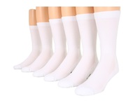 Fox River Work And Weekend Crew 6 Pair Pack White Crew Cut Socks Shoes