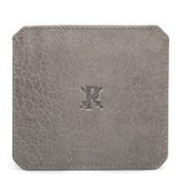 Parabellum Grey Leather Cardholder