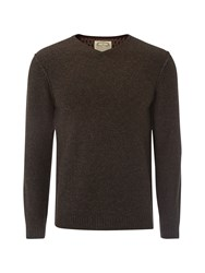 White Stuff Fade Out V Knit Dark Brown