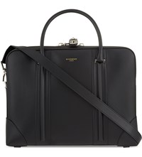 Givenchy Slim Leather Briefcase Black