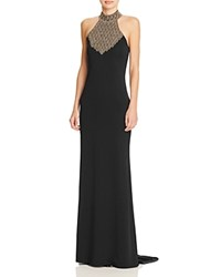 Parker Black Kyler Beaded Yoke Gown