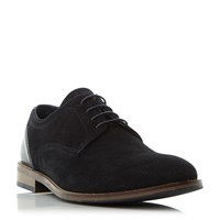 Howick Babbits 1 Lace Up Gibson Shoes Navy