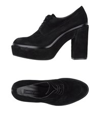 Janet And Janet Lace Up Shoes Black