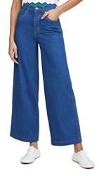 Wrangler Wide Leg Long Low Dip Rinse